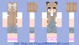 My sister Minecraft Skin