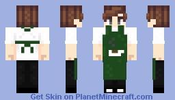 Coffee Worker Minecraft Skin