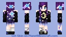 """.✯Galaxy Girl v2.0 ☾。. Minecraft Skin"