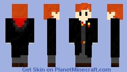 Gryffindor Student Minecraft Skin