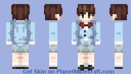 V (Kim Taehyung) ~ BTS -Dope Outfit- Minecraft Skin