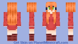 ♥ little red dress ♥ ~g u i n e a Minecraft Skin