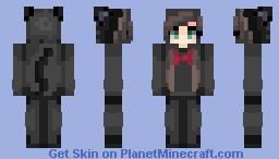 Jiji from Kiki's Delivery Service (onesie) Minecraft