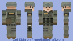 SWAT - Los Angeles County Sheriff's Department (Police) Minecraft Skin
