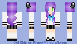 Old Lilly/ goodbye planet minecraft Minecraft Skin