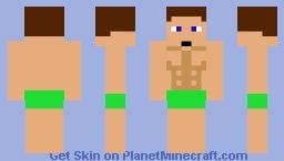 Vektor 007's beach skin Minecraft Skin