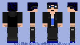 My GTA Online character - Casual Outfit V3 Minecraft Skin