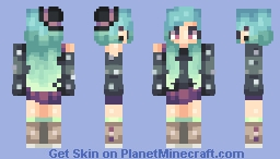 happy easter i made a punky witch chick Minecraft Skin