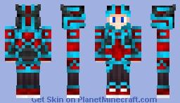 Atomic Dragon Warrior!!! Minecraft Skin