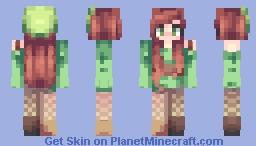 Rainforest Daze Minecraft Skin