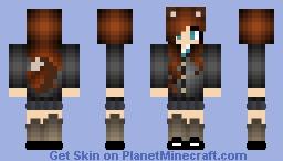 Saki Minecraft Skin