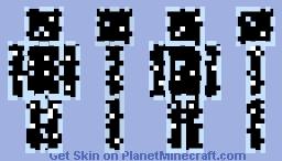Glass Minecraft Skin
