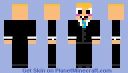 Baby Boss Baby School Minecraft Skin