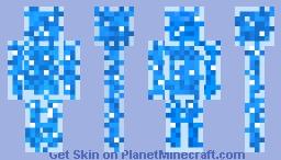 The Glass Water Bottle Minecraft Skin