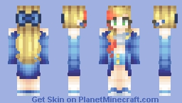 this is gospel | persona Minecraft Skin