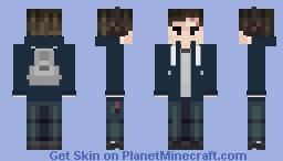 Clay Jensen - 13 Reasons Why Minecraft Skin