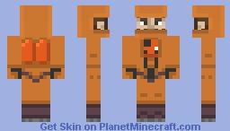 My first skin Minecraft Skin