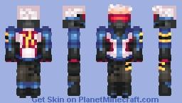 Overwatch - Soldier 76 Minecraft Skin