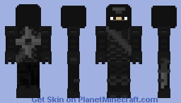 Ninja Battle Armor with Side Weapons