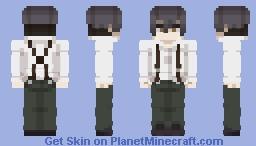 Angelo Lagusa - 91 Days Minecraft Skin