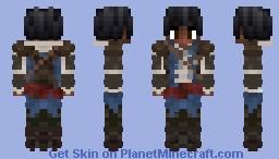 Black Edward Kenway...? Minecraft Skin