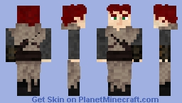 Another Kvothe - Kingkiller Chronicle Minecraft Skin