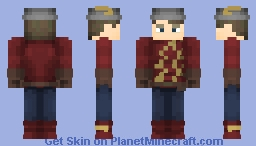 Jay Garrick Earth-2 (CW) Minecraft Skin