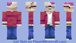 i died Minecraft Skin