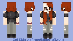 Daughter Of Hades•Cam Minecraft Skin
