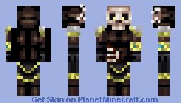 Undead Elf Ishtari Minecraft Skin