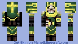 Undead Ishtari High Priest Minecraft Skin