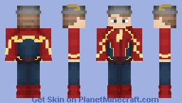 Jay Garrick (Earth 3) Minecraft Skin