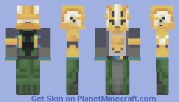 Destiny Warlock (Iron Banner) Minecraft