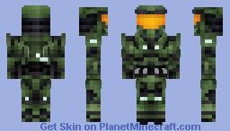 Master Chief/John-117|Halo Combat Evolved (Anniversary) Minecraft Skin