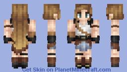 ♦ℜivanna16♦ Birthday! ^.^ (Me IRL) Minecraft Skin