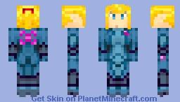 Samus Aran - Zero Mission Suit Minecraft Skin