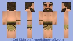 Neanderthal Minecraft Skin