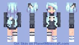 𝓼𝔂𝓵𝓿𝓲𝓪 | Evelyn | OC | Minecraft Skin