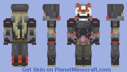 Overwatch Oni Genji skin Minecraft Skin