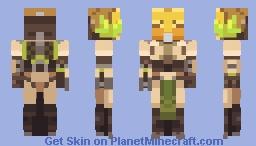 Overwatch - Orisa Minecraft Skin