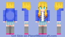 Uzuki Ayukawa [Casual Outfit ver.] Minecraft Skin