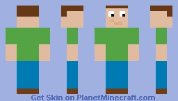 Pooploser_69 From N00b Adventures Minecraft Skin