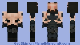Reimagined Lord Vader (or Mr. Freeze) [Star/Tron] Minecraft Skin