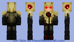 The Reverse Flash (UPDATED) Minecraft Skin