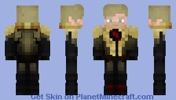 Reverse Flash (Season 3 Flash-point) Minecraft Skin
