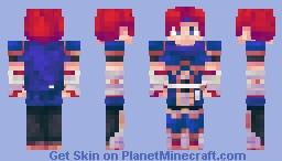 Roy | Super Smash Bros. Wii U Minecraft Skin