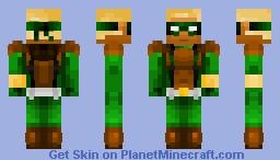 Connor Hawke {} Request Minecraft Skin