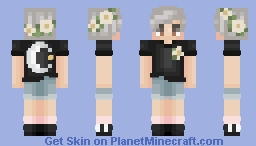 tumblr boy x vintage Minecraft Skin