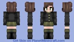 my updated perimits oc (new bio too) Minecraft Skin