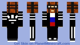 gopnik super hero Minecraft Skin